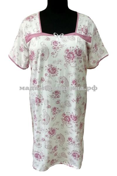 Сорочка ночная Каре (фото, вид 1)