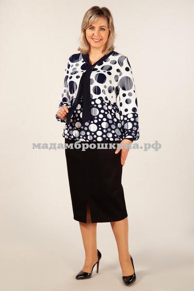 Блуза Офис Милада (фото, вид 2)