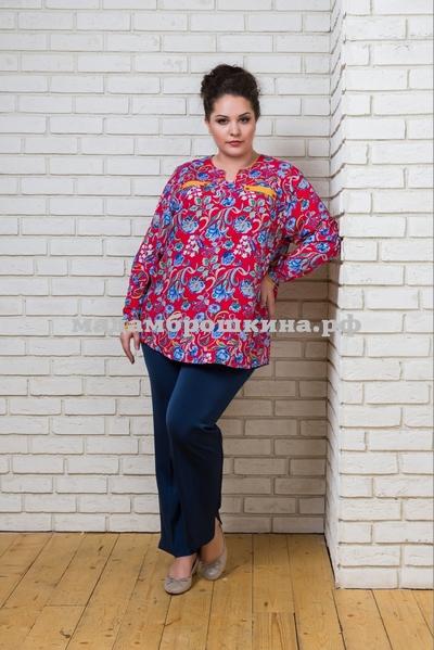 Блуза Азия (фото, вид 1)