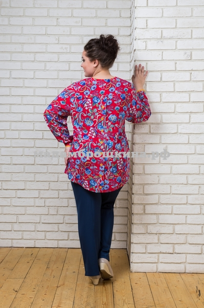Блуза Азия (фото, вид 2)