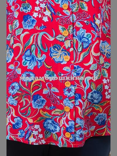 Блуза Азия (фото, вид 3)