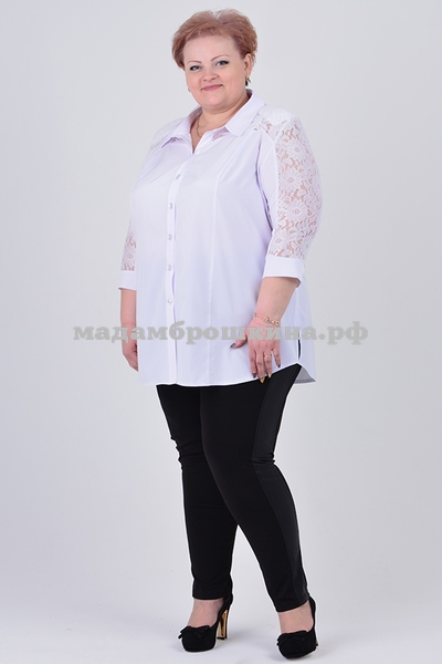 Блуза Белоснежка (фото, вид 1)