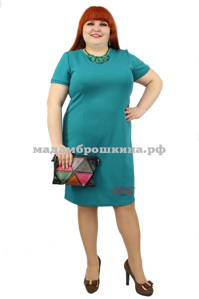 Платье Футляр рубчик (фото, вид 1)