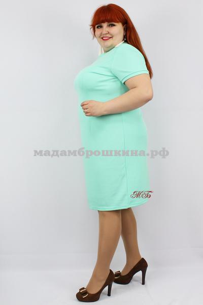 Платье Футляр рубчик (фото, вид 2)