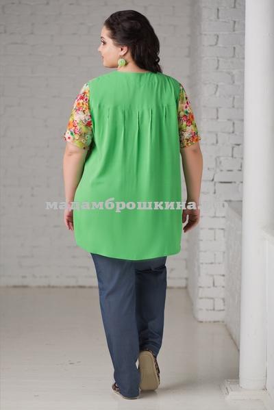 Блуза Акварель (фото, вид 1)