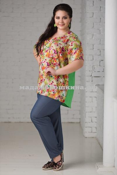 Блуза Акварель (фото, вид 2)