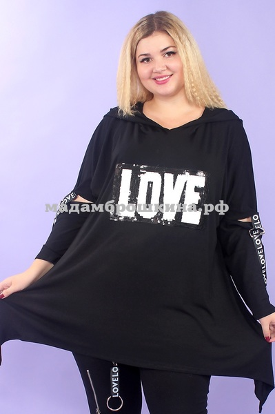 Туника Love Yaber (фото, вид 2)