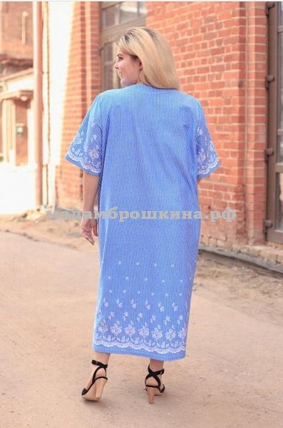 Платье для дома и отдыха Незабудка (фото, вид 1)