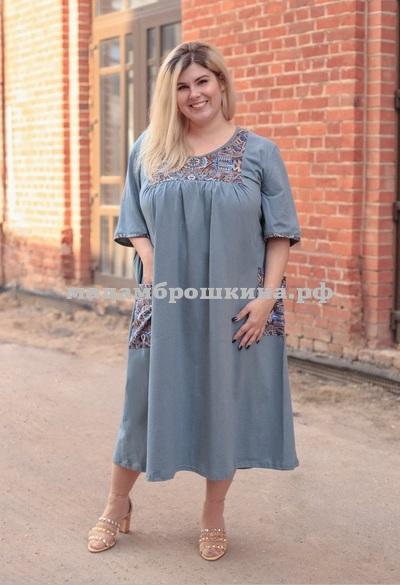 Платье для дома и отдыха Сусана (фото, вид 2)