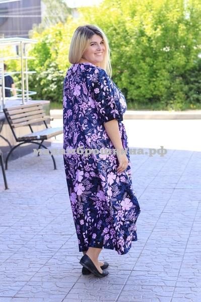 Платье для дома и отдыха Агафья (фото, вид 2)