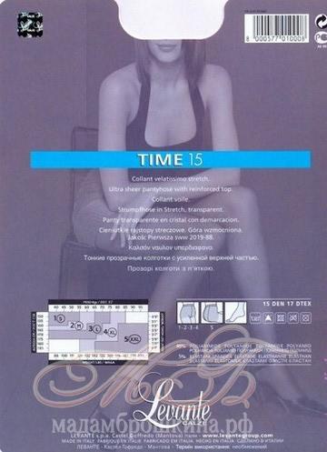 Колготки Levante Time 15 den (фото, вид 1)