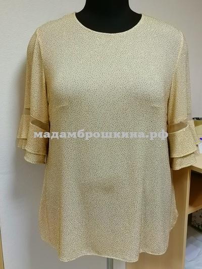 Блуза Золотце (фото, вид 2)