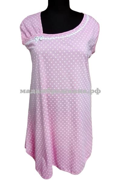 Сорочка ночная Майя (фото, розовый)