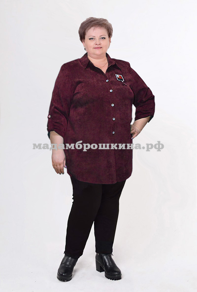 Рубашка Вельвет (фото, вид 4)