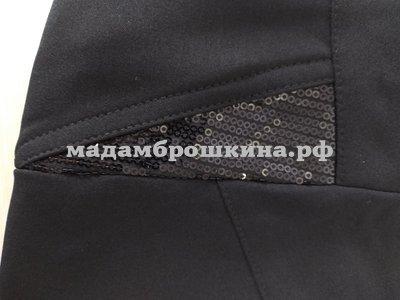 Брюки Тревор (фото, возможный вариант отделки кармана)