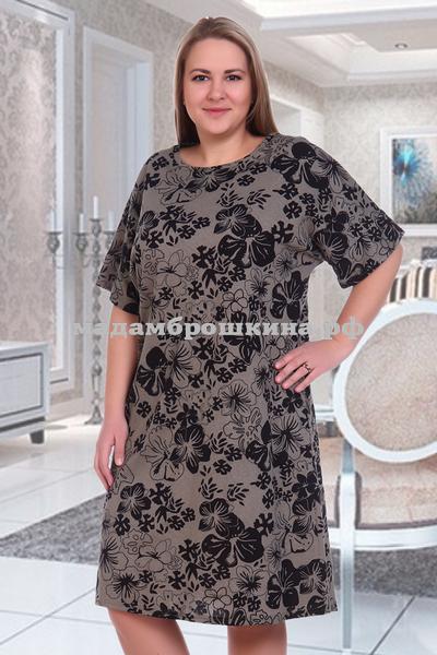 Платье для дома и отдыха Клевер (фото, вид 1)