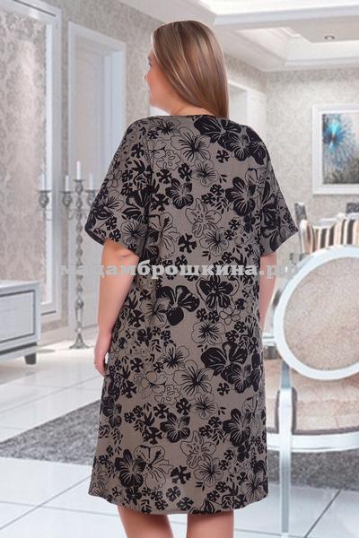 Платье для дома и отдыха Клевер (фото, вид 2)