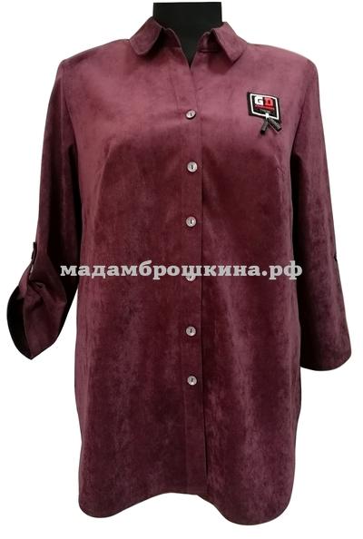 Рубашка Вельвет (фото, вид 3)