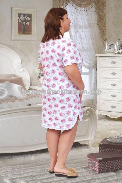 Сорочка ночная Букетик (фото, вид 1)