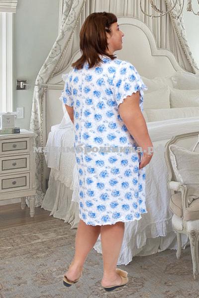 Сорочка ночная Цветочек (фото, вид 1)