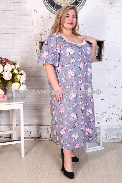 Сорочка ночная Фламинго (фото, вид 3)