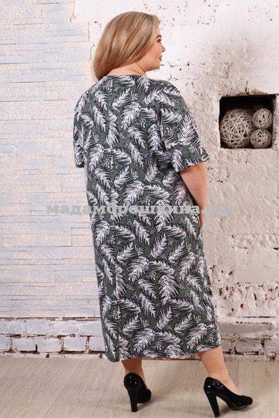 Платье для дома и отдыха Лайм (фото, вид 3)