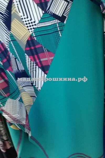 Пончо Матрица (фото, фактический цвет)