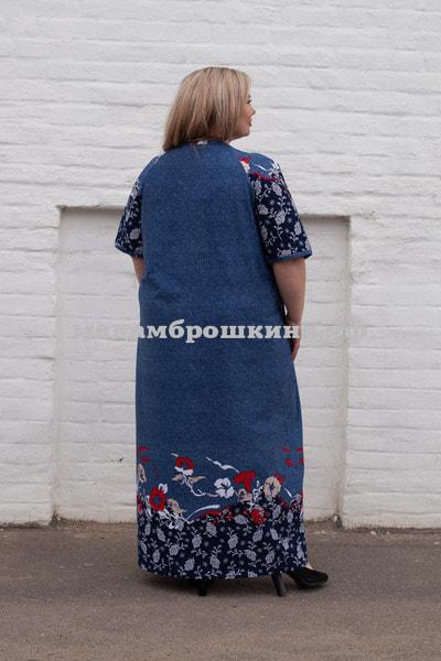 Платье для дома и отдыха Лилия (фото, вид 1)