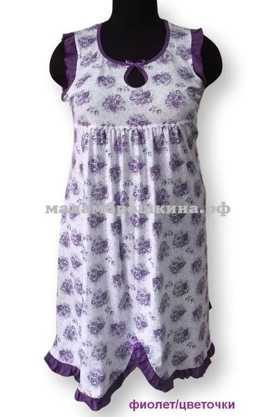 Сорочка ночная Катенька (фото, вид 2)