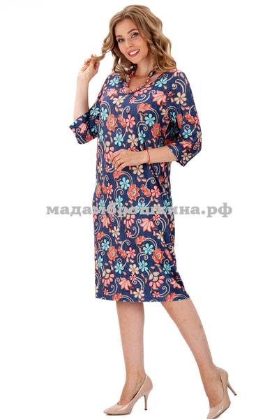 Платье для дома и отдыха Нюша (фото, вид 4)