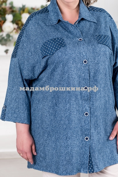 Рубашка Пандора (фото, вид 1)