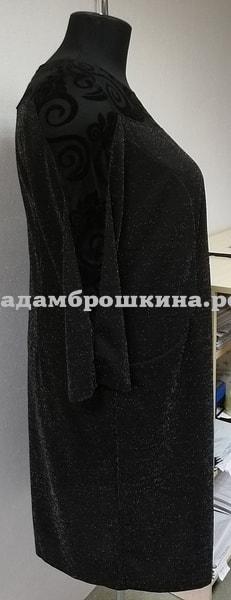 Платье Червона (фото, вид с боку)