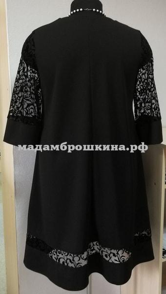 Платье Риорита (фото, вид сзади)