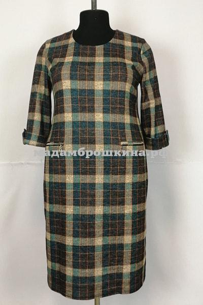 Платье Клетка (фото, вид 2)