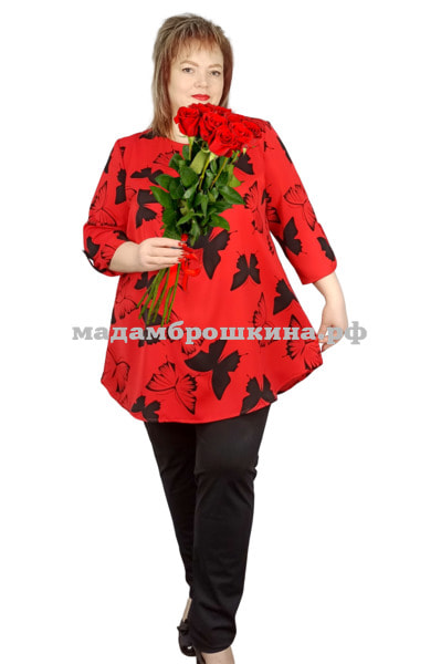 Блуза Мотылек (фото, вид 1)