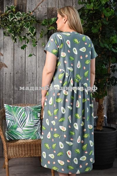 Платье для дома и отдыха Авокадо (фото, вид 2)