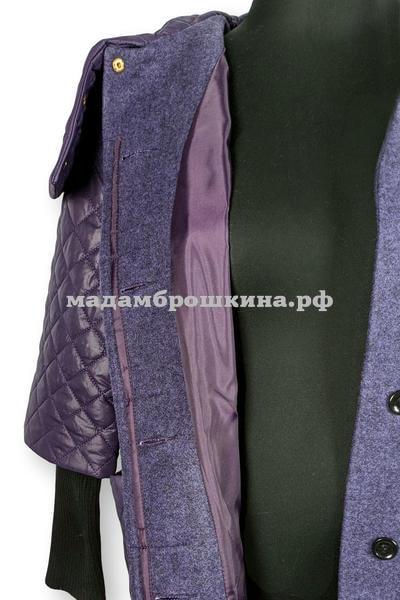 Пальто AMALGAMA (фото, вид 6)
