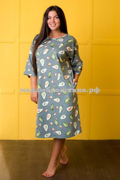 Платье для дома и отдыха Фруктайм-2 (фото, вид 3)