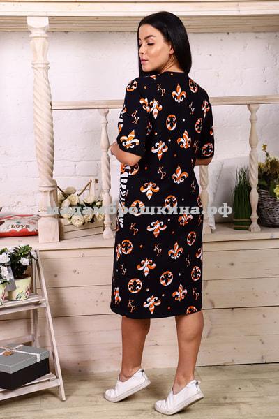 Платье для дома и отдыха Красотка (фото, вид 2)