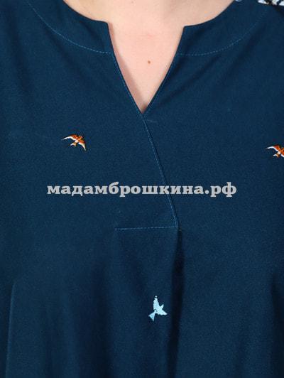 Платье для дома и отдыха Полынь (фото, вид 4)