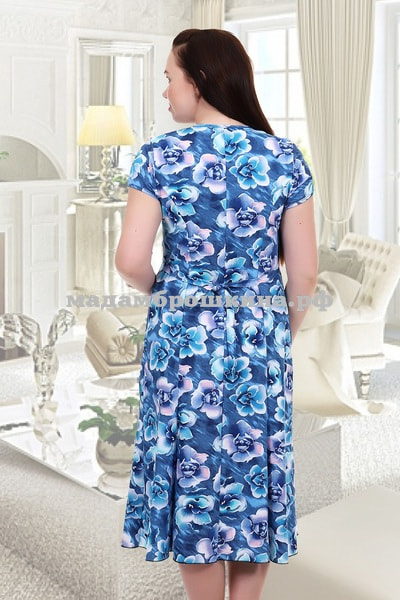 Платье для дома и отдыха Орхидея (фото, вид 1)