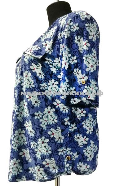 Блуза Незабудка (фото, вид 2)