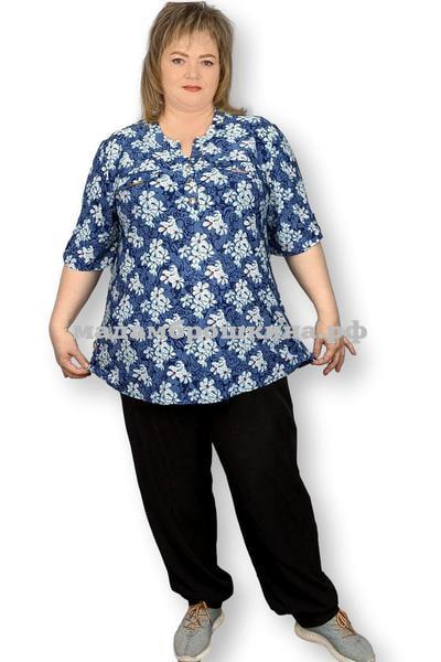 Блуза Незабудка (фото, вид 1)