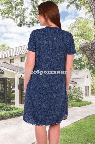 Платье для дома и отдыха Орнамент (фото, вид 1)
