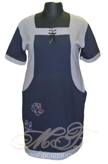 Платье для дома и отдыха Сердечко (фото, вид 2)