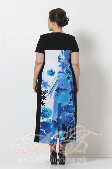 Платье Контраст (фото, вид 2)