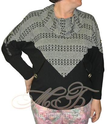 Блуза Сезам (фото, вид 2)
