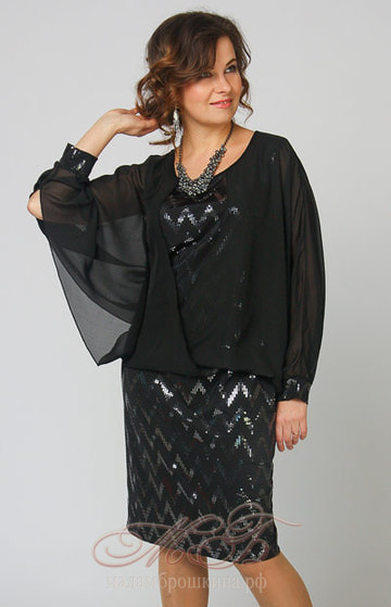 Платье Диско (фото, вид 2)