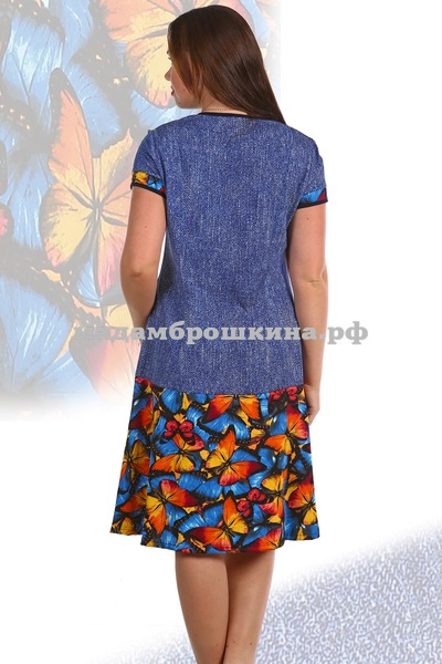 Платье для дома и отдыха Махаон (фото, вид 1)