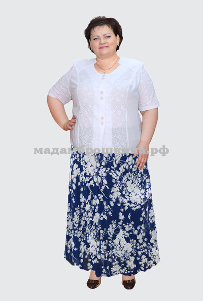 Блуза Альбина (фото, вид 1)